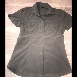 Eddie Bauer Womens Size XS Button Up Shirt